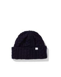 Brushed Cable Beanie